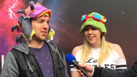 Video interviews with League of Legends fans outside the Wembley SSE Arena