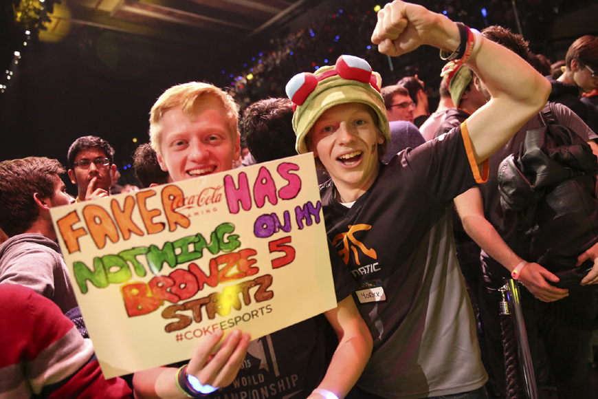 Where are all the UK eSports fans?