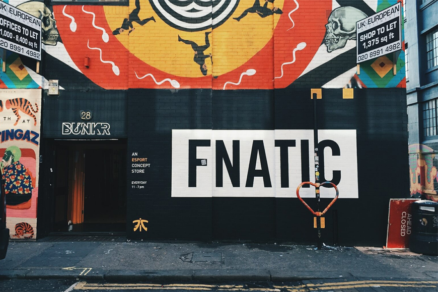 Fnatic opens BUNKR esports pop-up shop in London