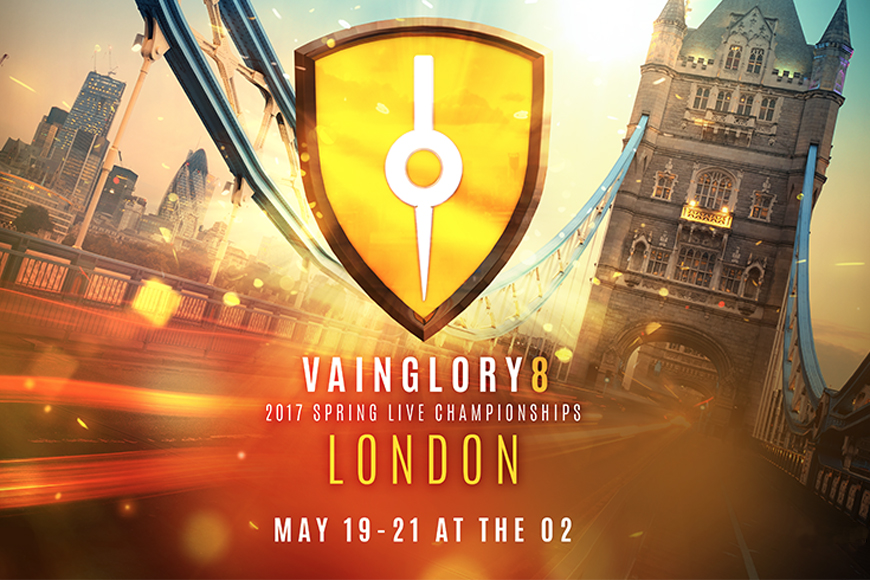 Vainglory Unified Live Spring 2017 Championships to be held at London's O2 in May