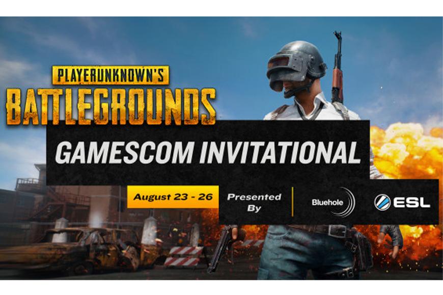 Gamescom to host $350,000 Playerunknown's Battlegrounds Invitational