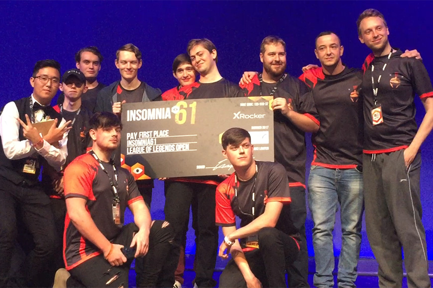 New org Vir Mortalis win i61 BYOC LoL tournament