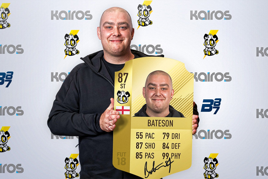 FIFA content creator Bateson87 joins up with Lightning Pandas