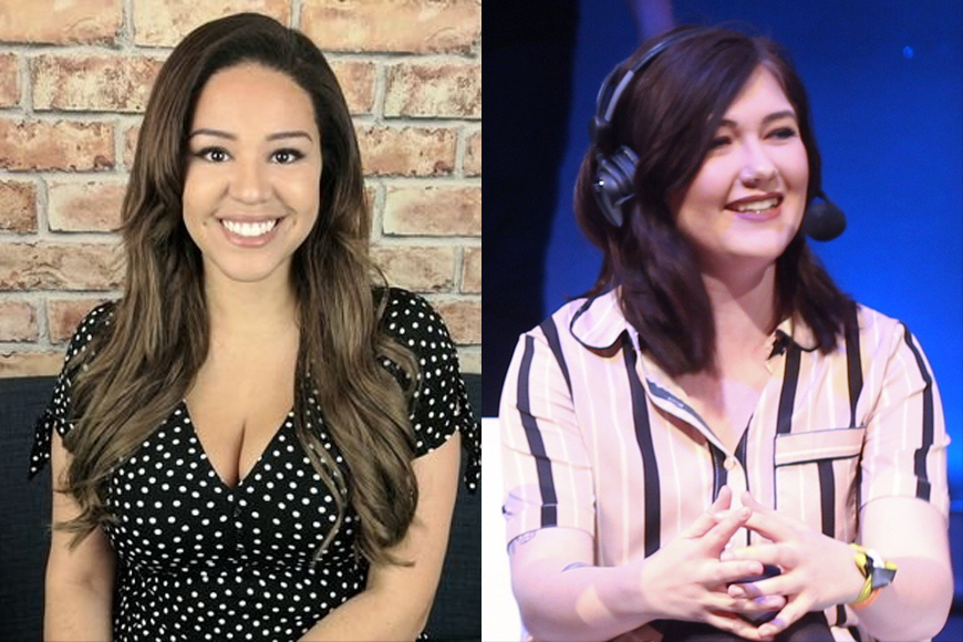 Elle Osili-Wood to present Ginx TV's Daily Download as Heather Dower moves to ESL UK