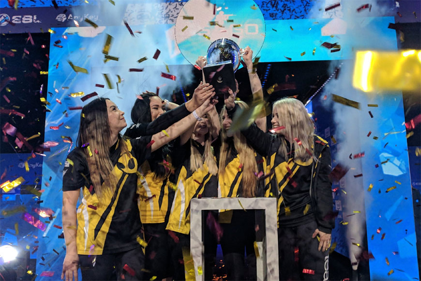 Team Dignitas win Intel Challenge Katowice female CSGO tournament