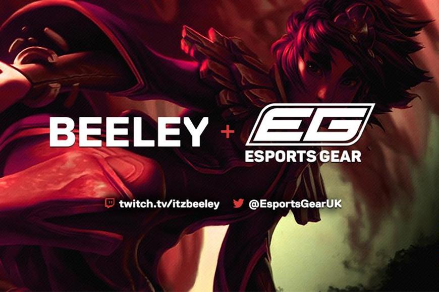 UK's first esports-focused hardware retailer signs UK mid-laner Beeley