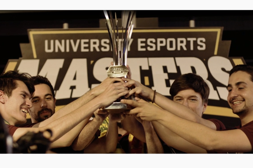 NUEL Live LoL winners 'Sponsored by Hyper-Exe LUL' will be representing England at the University Esports Masters