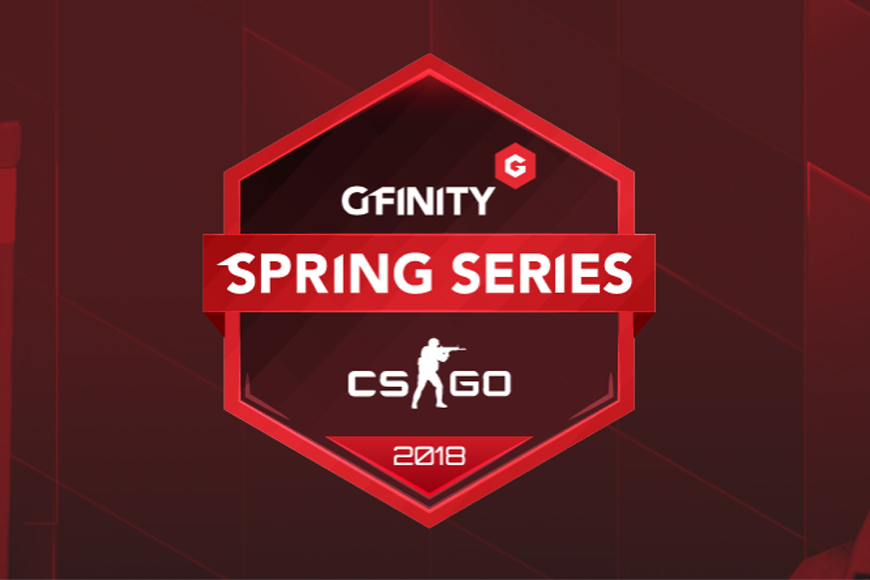 Sign-ups open for $50,000 Gfinity CSGO Spring Series