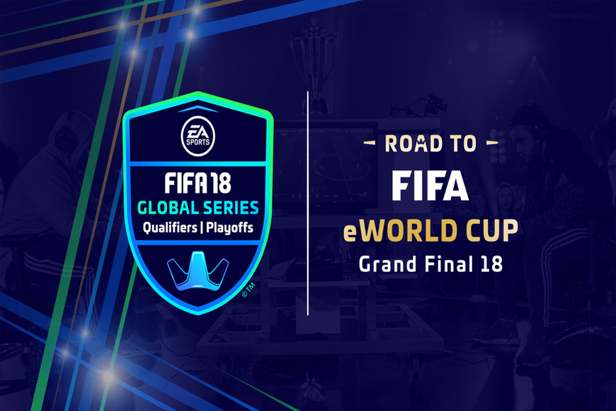 Which UK players have qualified for the FIFA eWorld Cup in London?