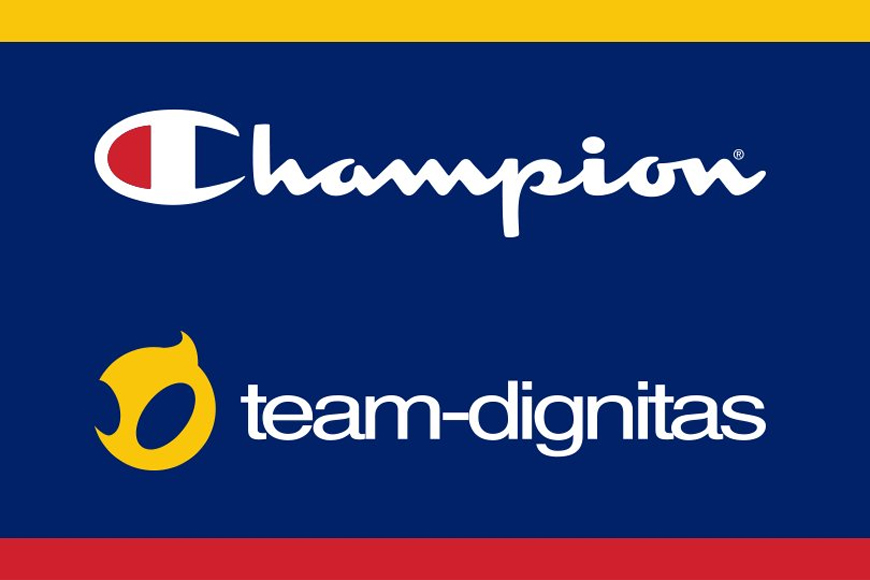Champion Athleticwear excited to refresh Team Dignitas brand and create more opportunities for women in esports