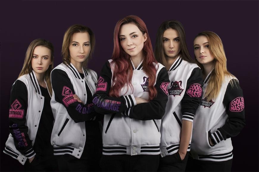 Time russo só com mulheres de League Of Legends perde de 52-2