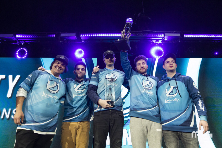 UK Call of Duty team shine as Luminosity win CWL Fort Worth