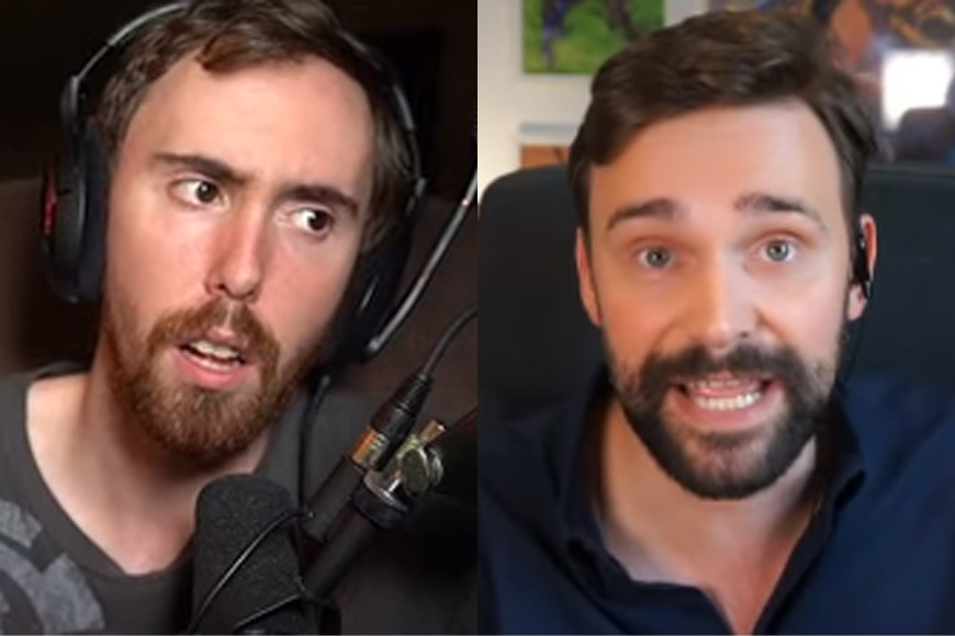 'Apology not accepted' – Asmongold brands Taliesin's apology 'fake' after rant about streamer power and responsibility