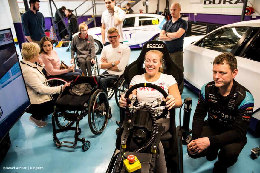 eteam brit disabled sim racers