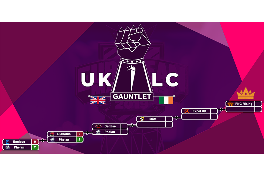 The iron gauntlet to Twickenham and the EU Masters: Can Phelan Gaming undertake the miracle run to the UKLC finals?