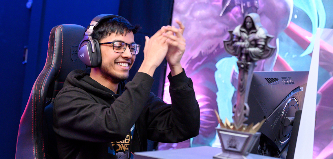 Haseeb 'BlueSpirits' Rasool crowned 1v1 Red Bull Player One UK champion