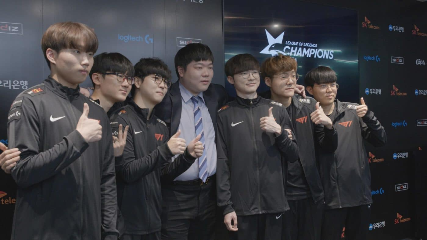 Faker 'honoured' to become part owner at T1 Entertainment & Sports