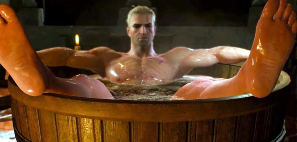 gamer hygiene witcher bath