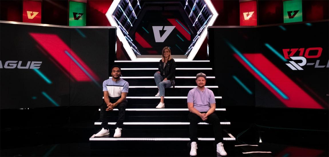 BT Sport, ESPN AND Starzplay Arabia to broadcast V10 R-League, whose hosts include Nicolas Hamilton, Rachel Stringer and Ben Daly