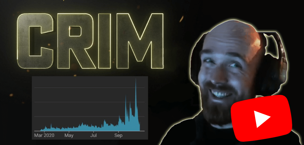 crim rogue setting up youtube channel