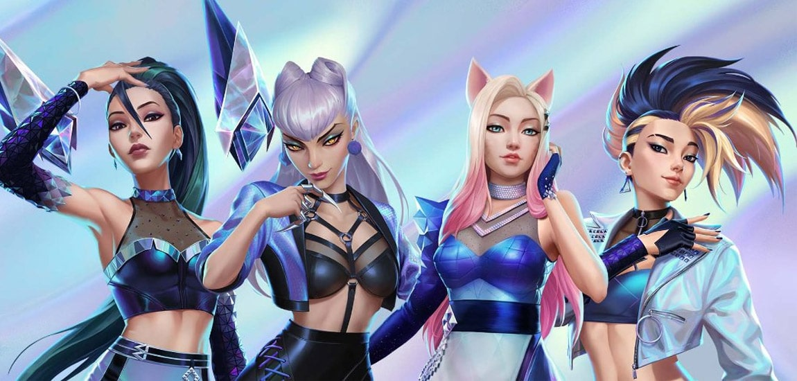 A review of K/DA's All Out EP by someone who's probably far too old to be listening to it