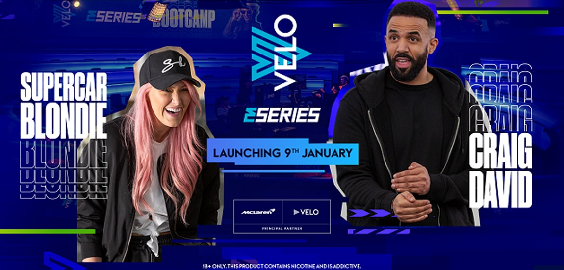 McLaren Racing and Velo announce new esports series featuring Craig David, Supercar Blondie, Rory Reid and more