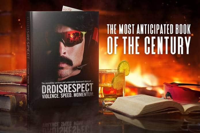 dr disrespect book promo
