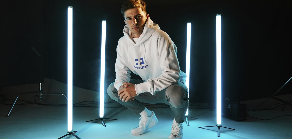 Mason Mount joins Combat Gaming, sister company of Gareth Bale's Ellevens Esports, and will host a new content series