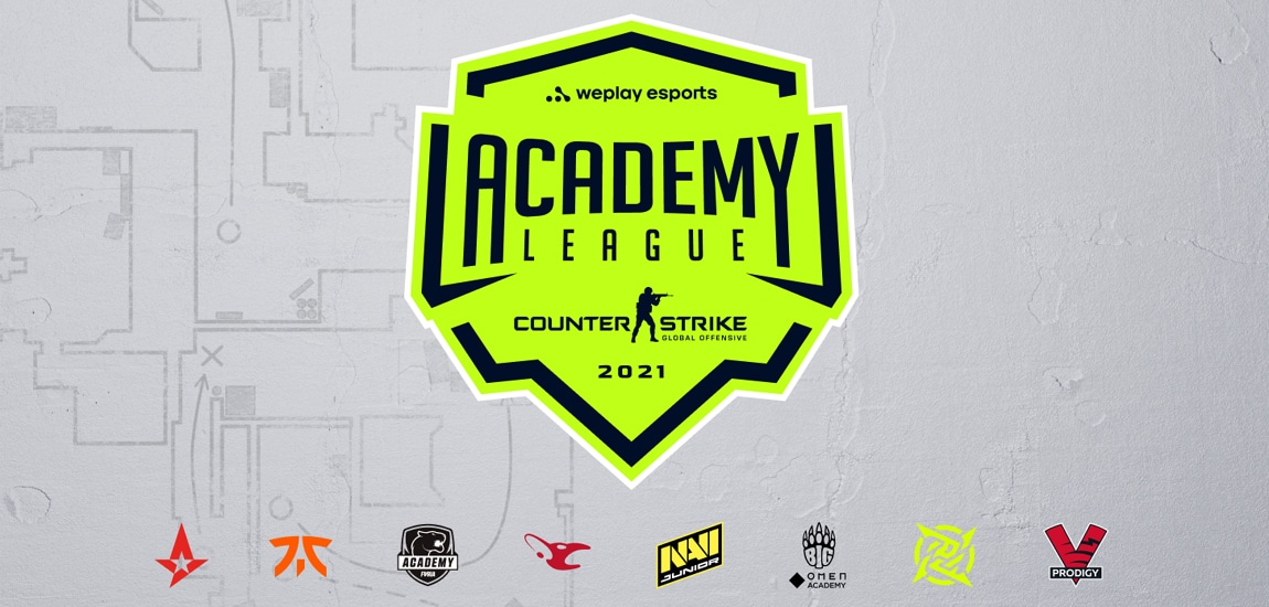 Fnatic Rising CSGO team and other academy sides to take part in new $100,000 WePlay CSGO Academy League