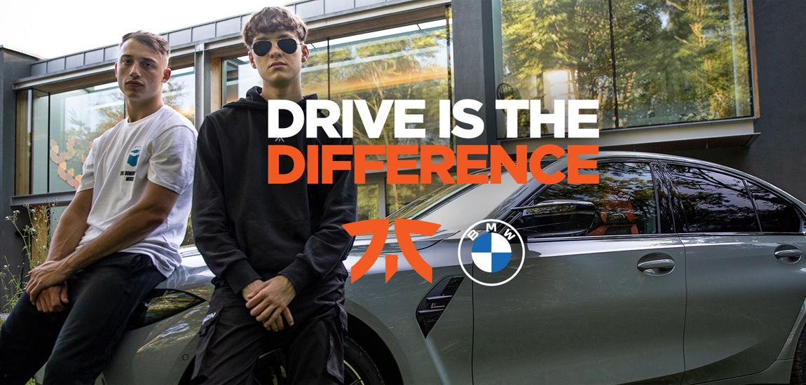 Fnatic and BMW launch 'Drive is the Difference' campaign to improve mental wellbeing of pro esports players