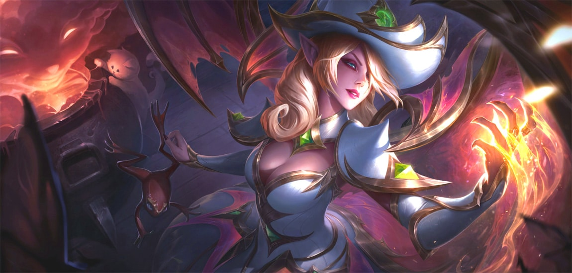 Bewitching Morgana Prestige Edition leads a line of new Halloween LoL skins for 2021